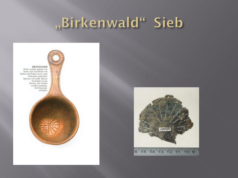 """""""Birkenwald Sieb"""