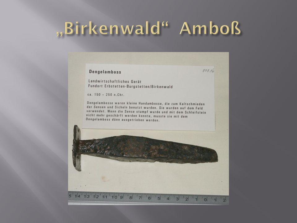 """""""Birkenwald Amboß"""