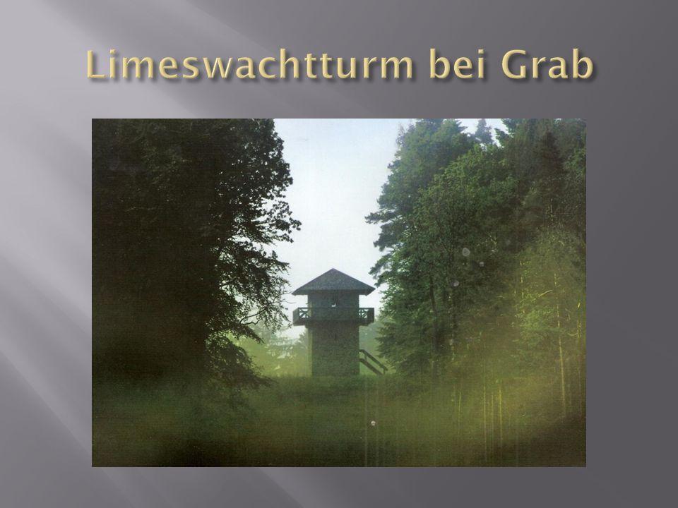Limeswachtturm bei Grab