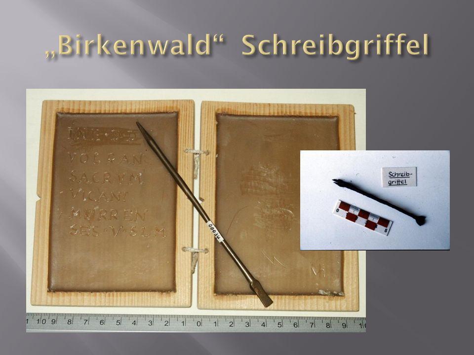 """""""Birkenwald Schreibgriffel"""