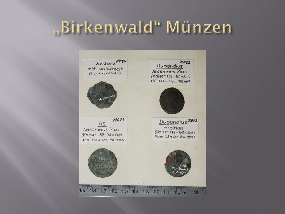 """""""Birkenwald Münzen"""