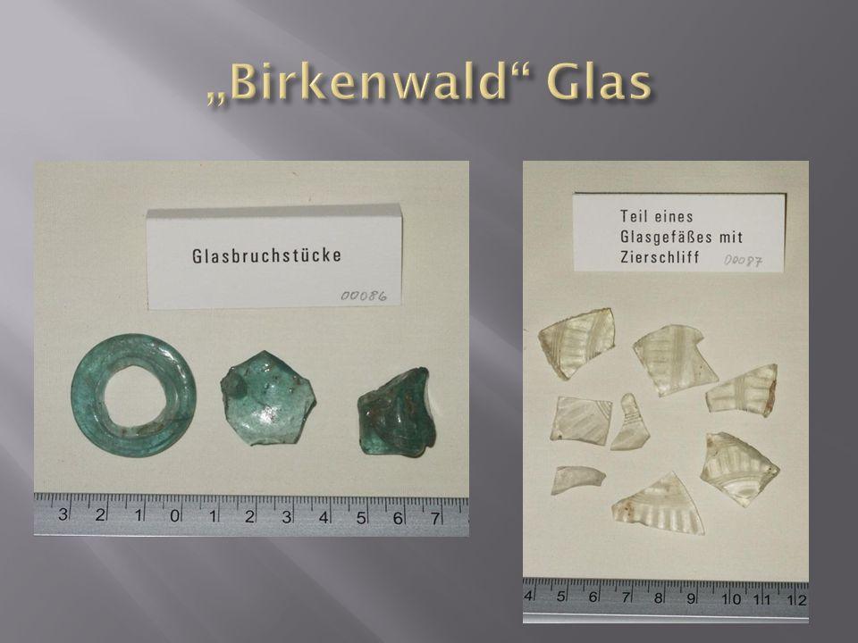 """""""Birkenwald Glas"""