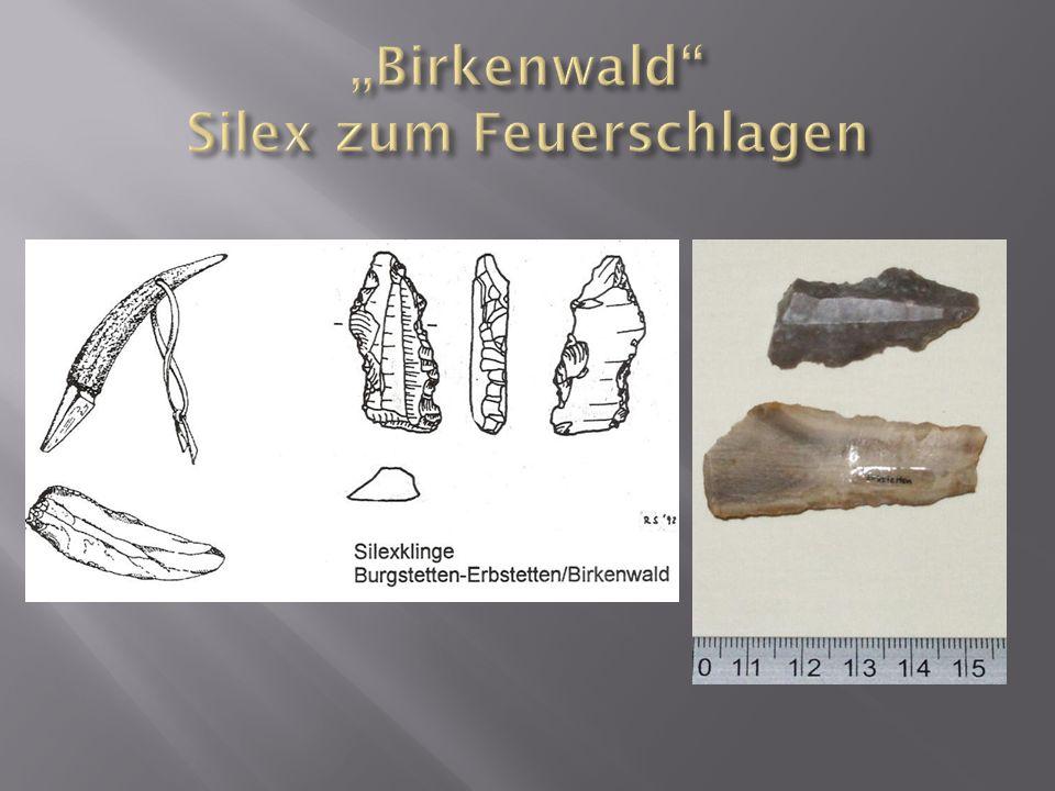 """""""Birkenwald Silex zum Feuerschlagen"""