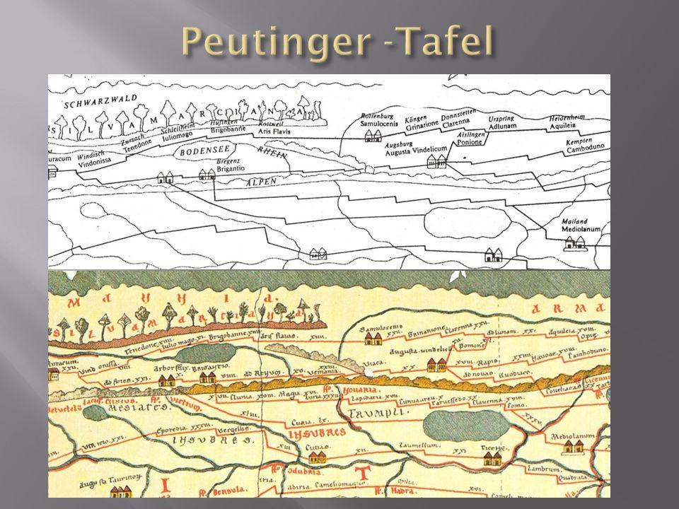 Peutinger -Tafel
