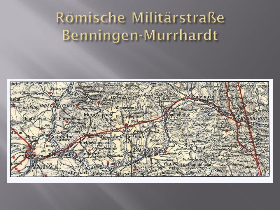 Römische Militärstraße Benningen-Murrhardt