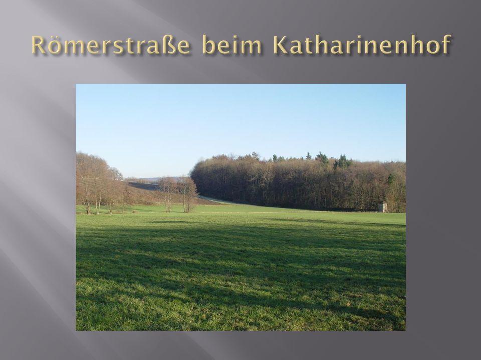 Römerstraße beim Katharinenhof
