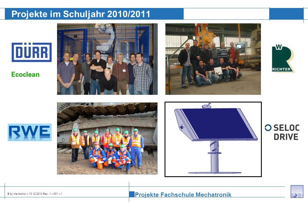Projekte im Schuljahr 2010/2011