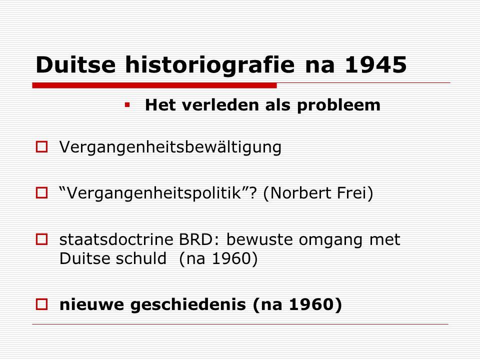 Duitse historiografie na 1945