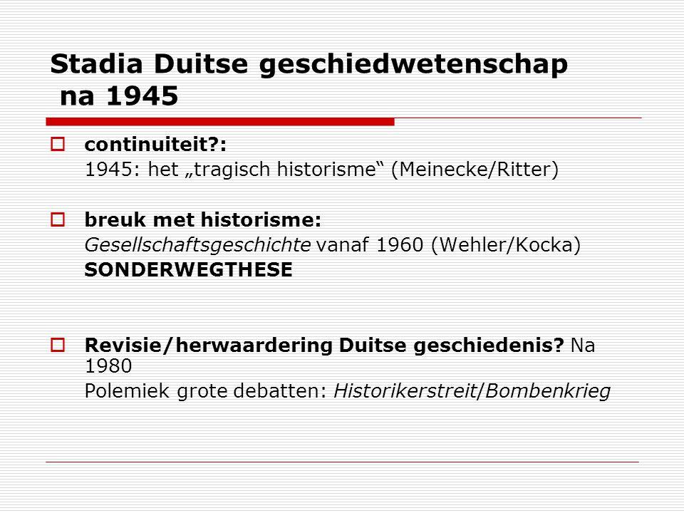 Stadia Duitse geschiedwetenschap na 1945