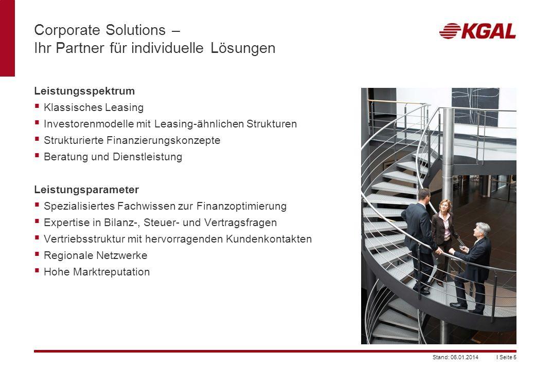 Corporate Solutions – Ihr Partner für individuelle Lösungen