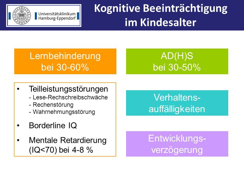 Kognitive Beeinträchtigung im Kindesalter