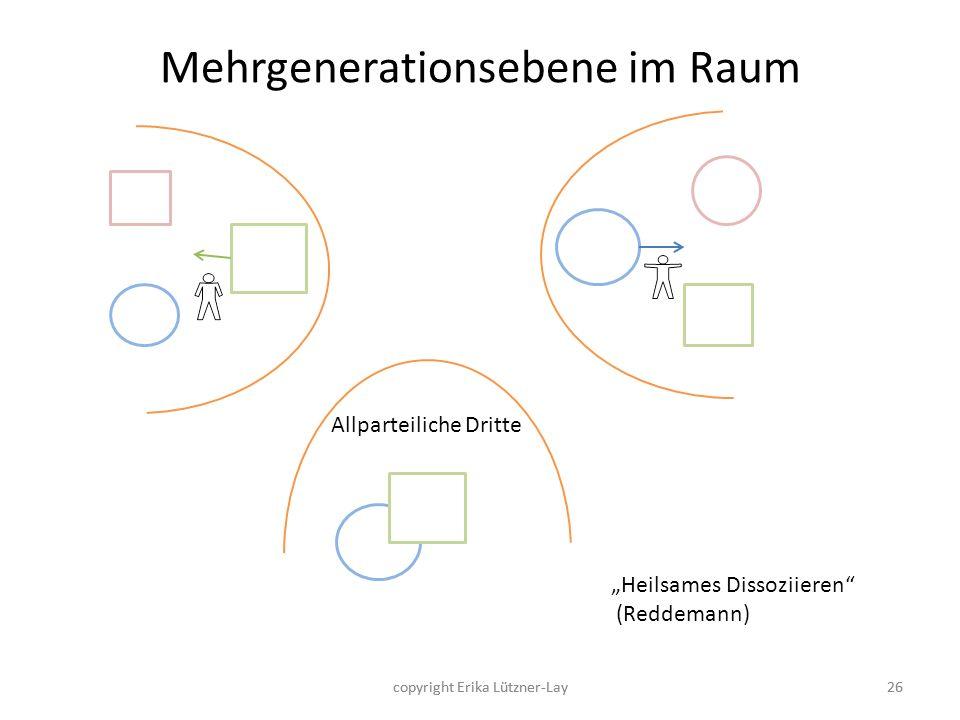 Mehrgenerationsebene im Raum