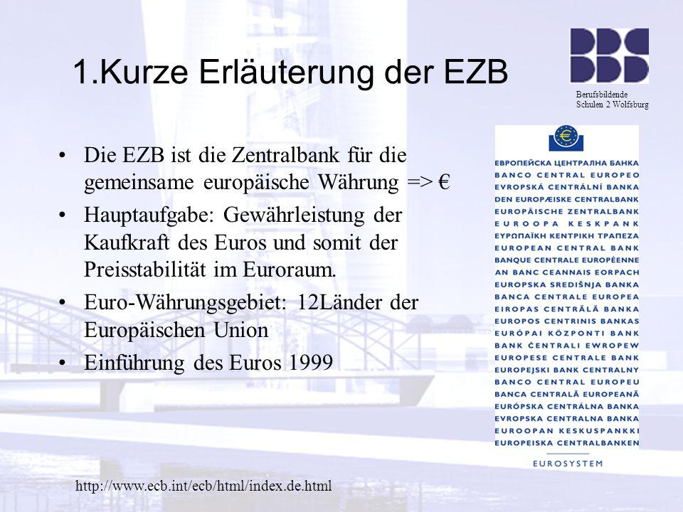 1.Kurze Erläuterung der EZB
