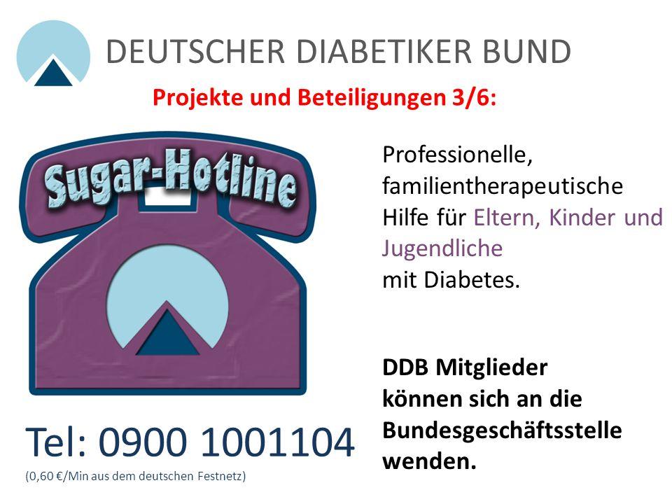 Tel: 0900 1001104 DEUTSCHER DIABETIKER BUND