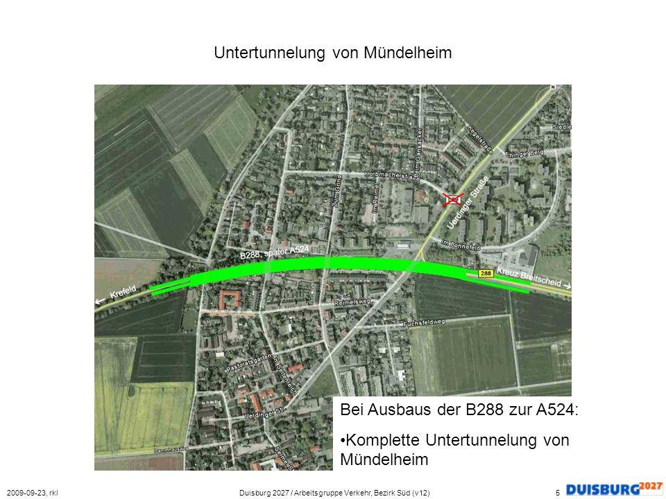 Untertunnelung von Mündelheim