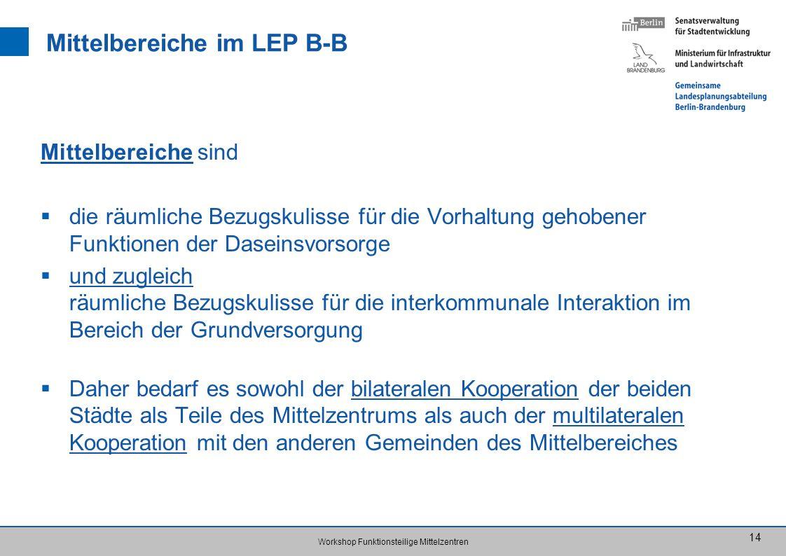 Mittelbereiche im LEP B-B