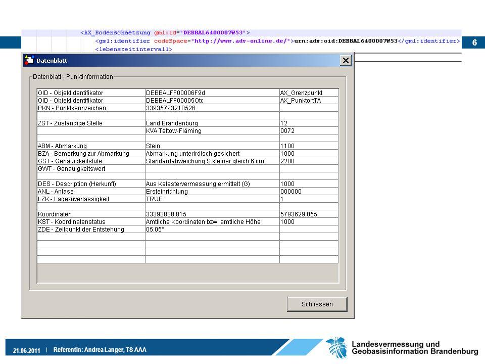 Aktuell Aktuelle Version der ALKIS-EQK in Produktivtestumgebung 