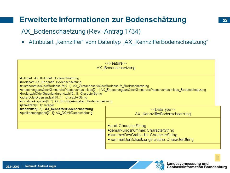 Erweiterte Informationen zur Bodenschätzung