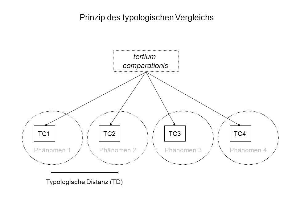 Prinzip des typologischen Vergleichs