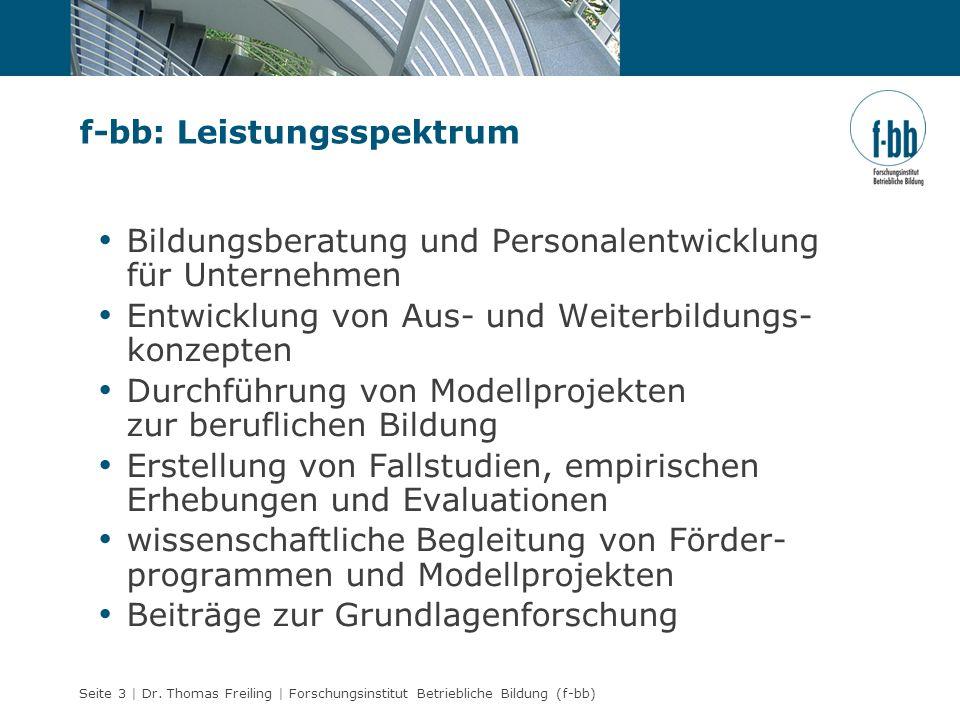 f-bb: Leistungsspektrum