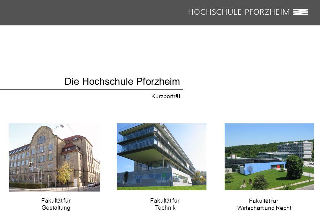 Die Hochschule Pforzheim