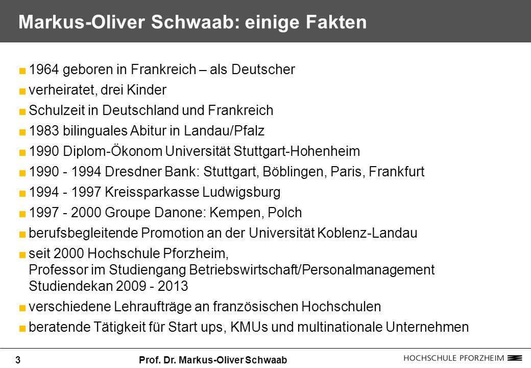 Markus-Oliver Schwaab: einige Fakten