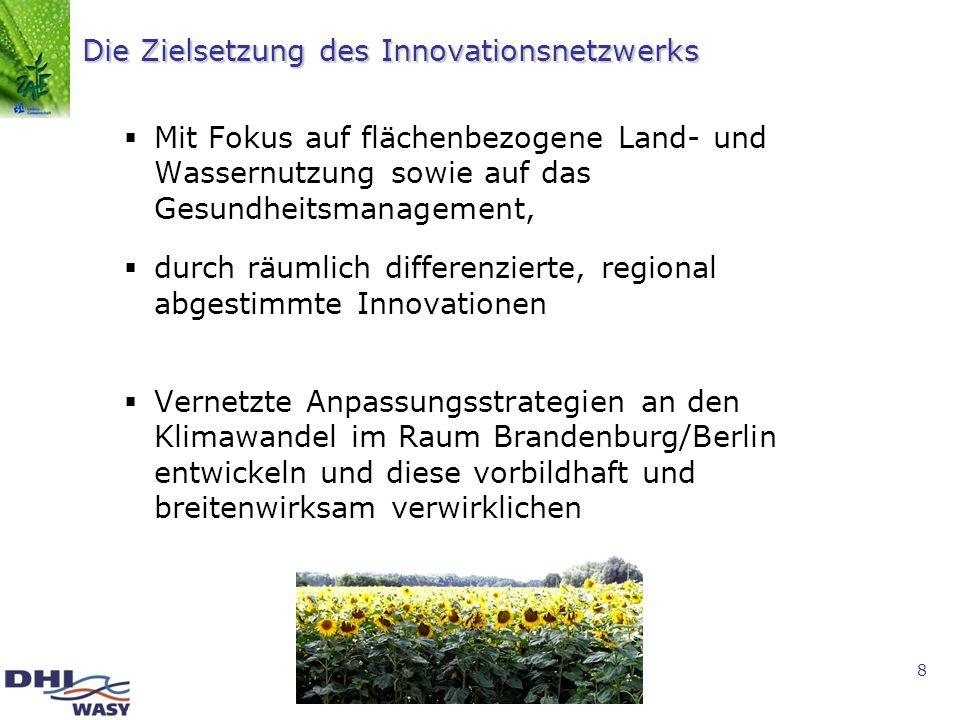 Die Zielsetzung des Innovationsnetzwerks