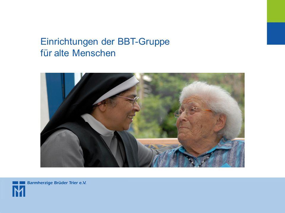 Einrichtungen der BBT-Gruppe