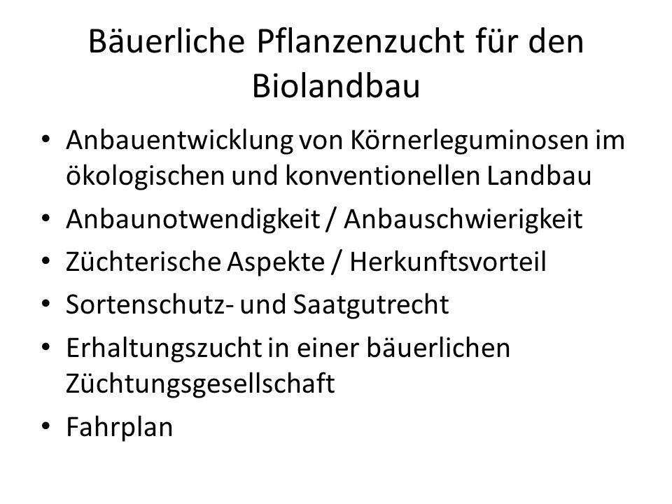 Bäuerliche Pflanzenzucht für den Biolandbau