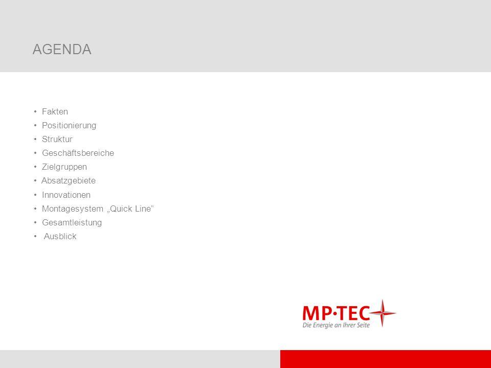 AGENDA Fakten Positionierung Struktur Geschäftsbereiche Zielgruppen