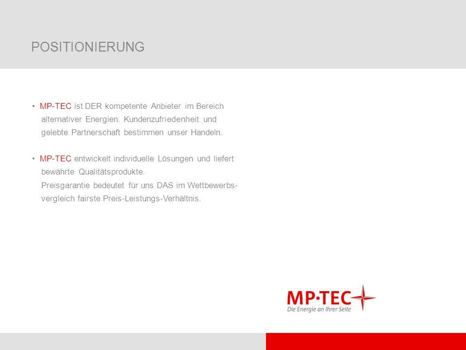 POSITIONIERUNG MP-TEC ist DER kompetente Anbieter im Bereich