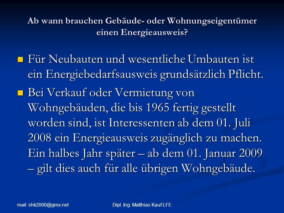 Dipl. Ing. Matthias Kauf LFE