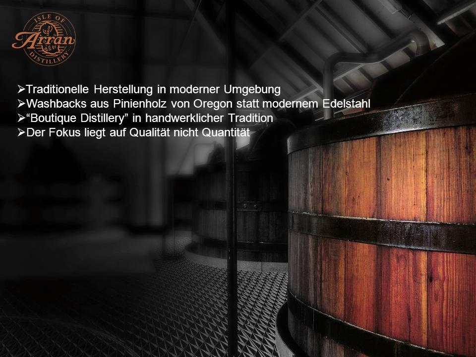 Traditionelle Herstellung in moderner Umgebung
