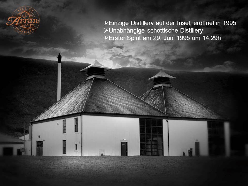 Einzige Distillery auf der Insel, eröffnet in 1995