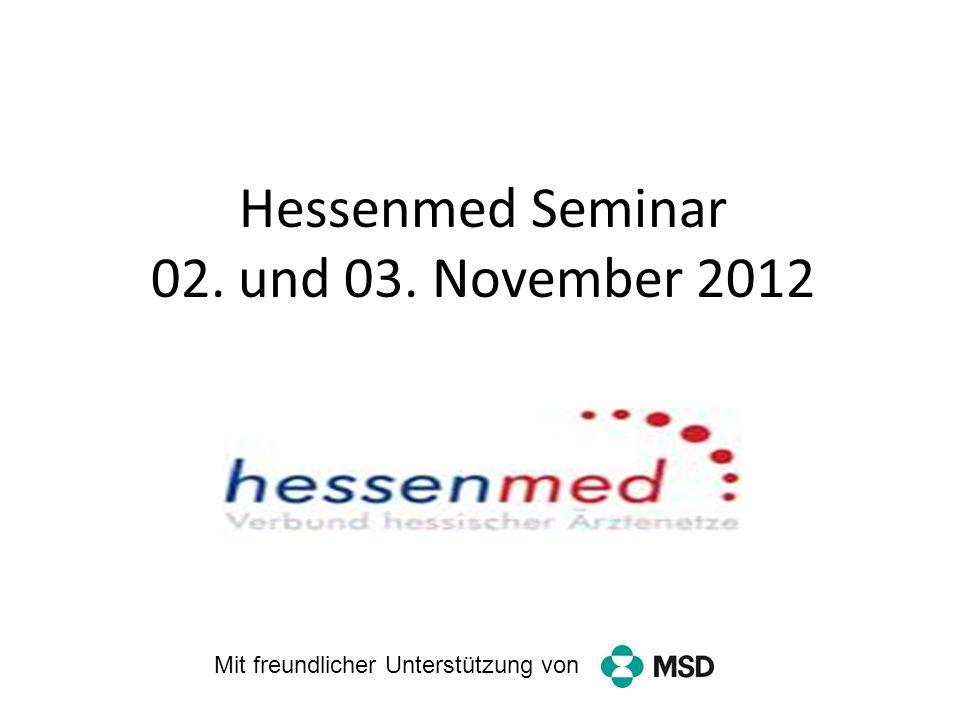 Hessenmed Seminar 02. und 03. November 2012