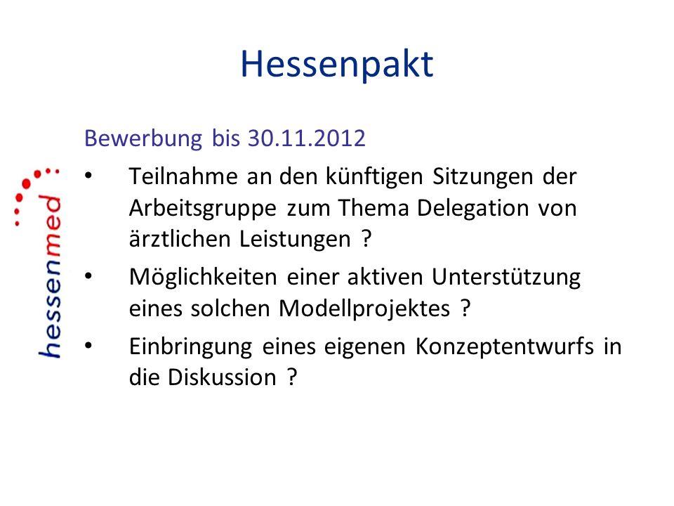 Hessenpakt Bewerbung bis 30.11.2012