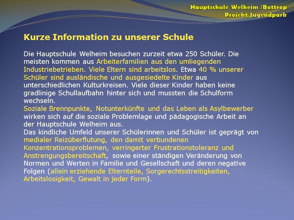 Kurze Information zu unserer Schule