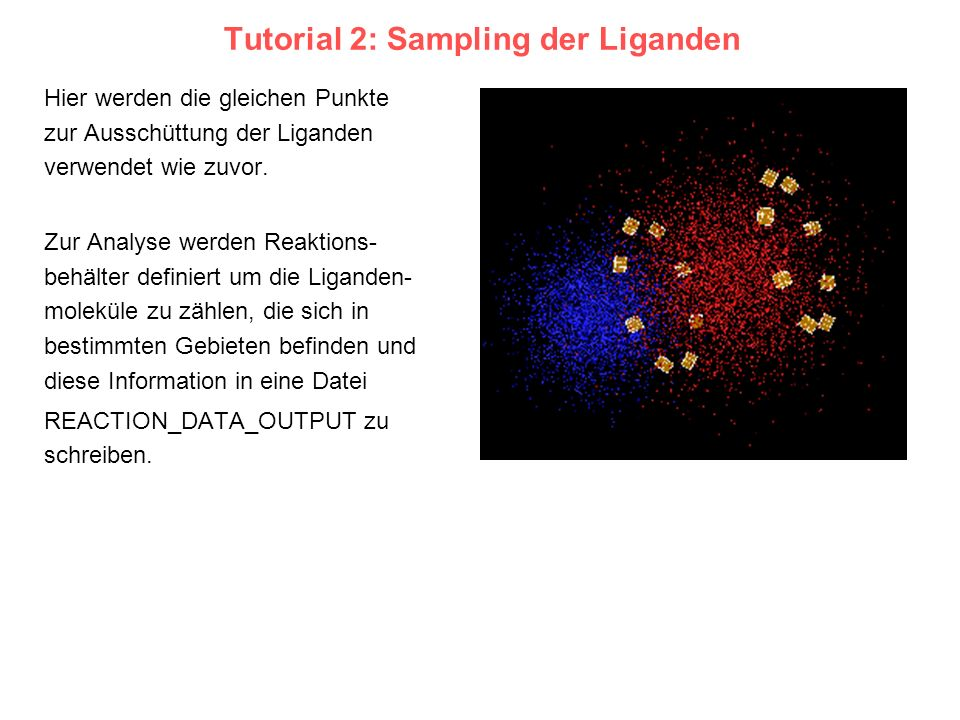Tutorial 2: Sampling der Liganden