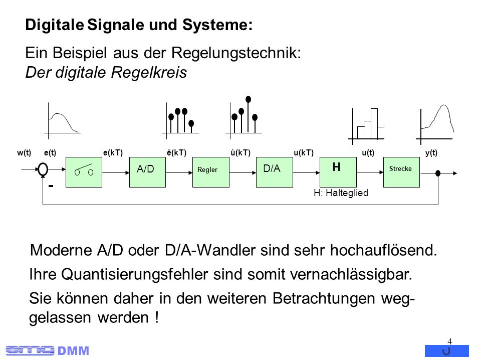 Digitale Signale und Systeme: