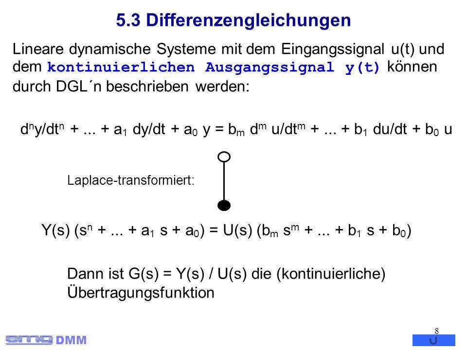 5.3 Differenzengleichungen