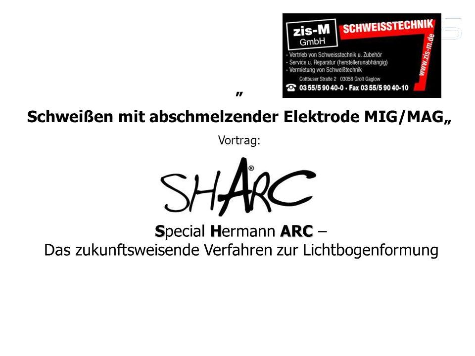 """Schweißen mit abschmelzender Elektrode MIG/MAG"""""""
