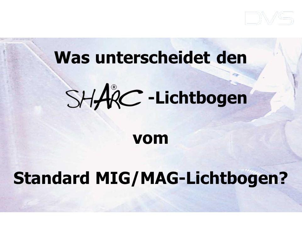 Standard MIG/MAG-Lichtbogen