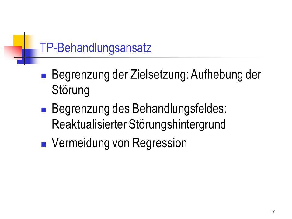 TP-Behandlungsansatz