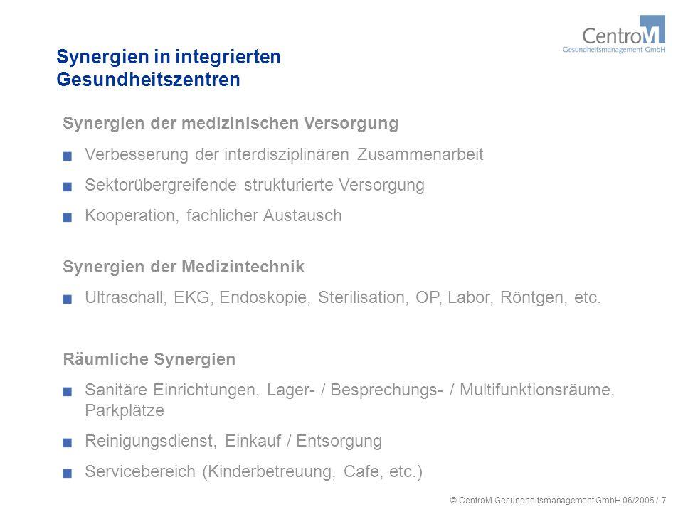 Synergien in integrierten Gesundheitszentren