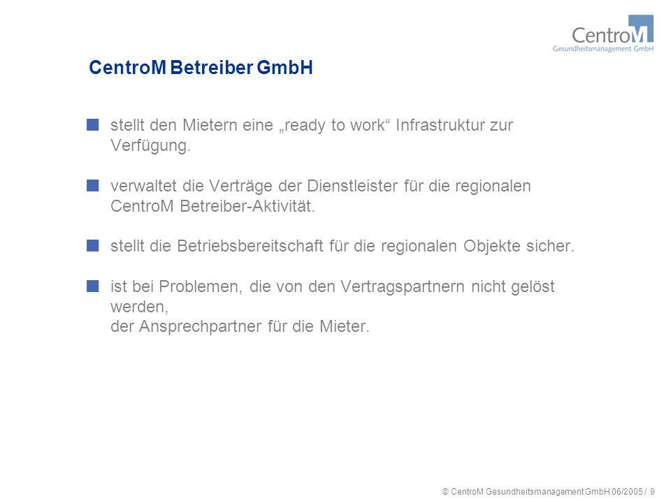 CentroM Betreiber GmbH