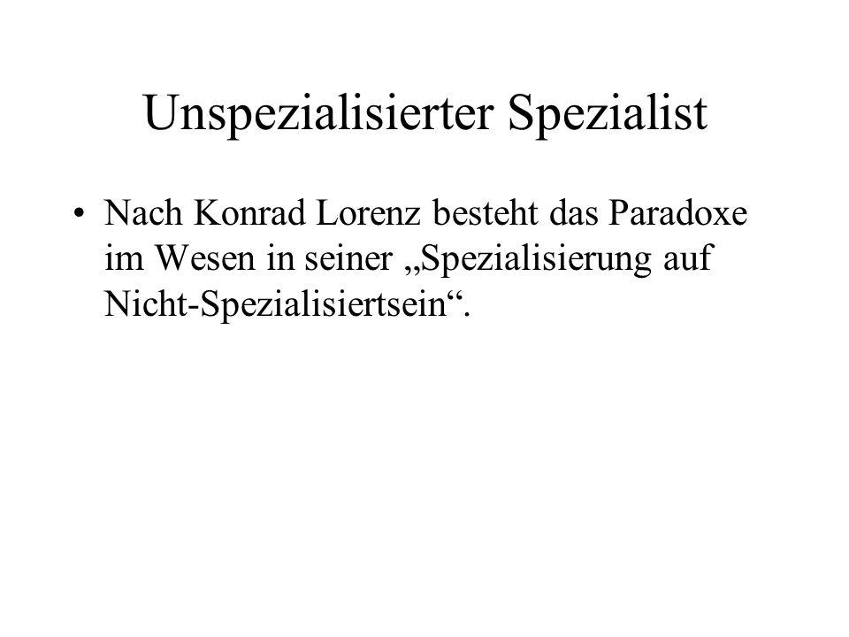 Unspezialisierter Spezialist
