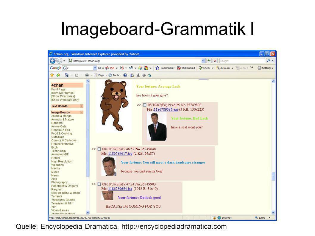 Imageboard-Grammatik I