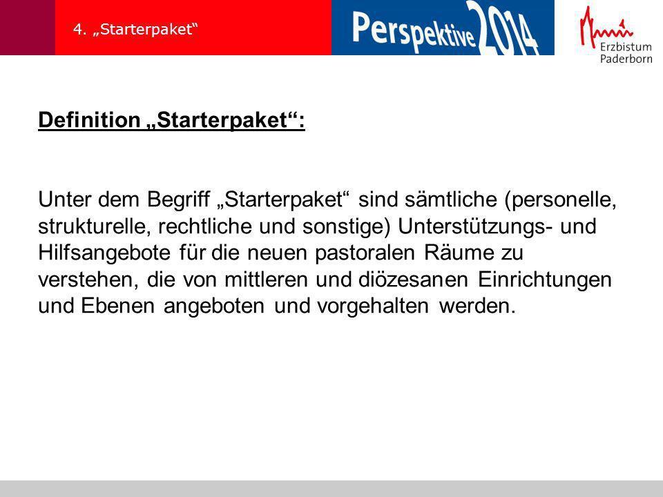 """Definition """"Starterpaket :"""