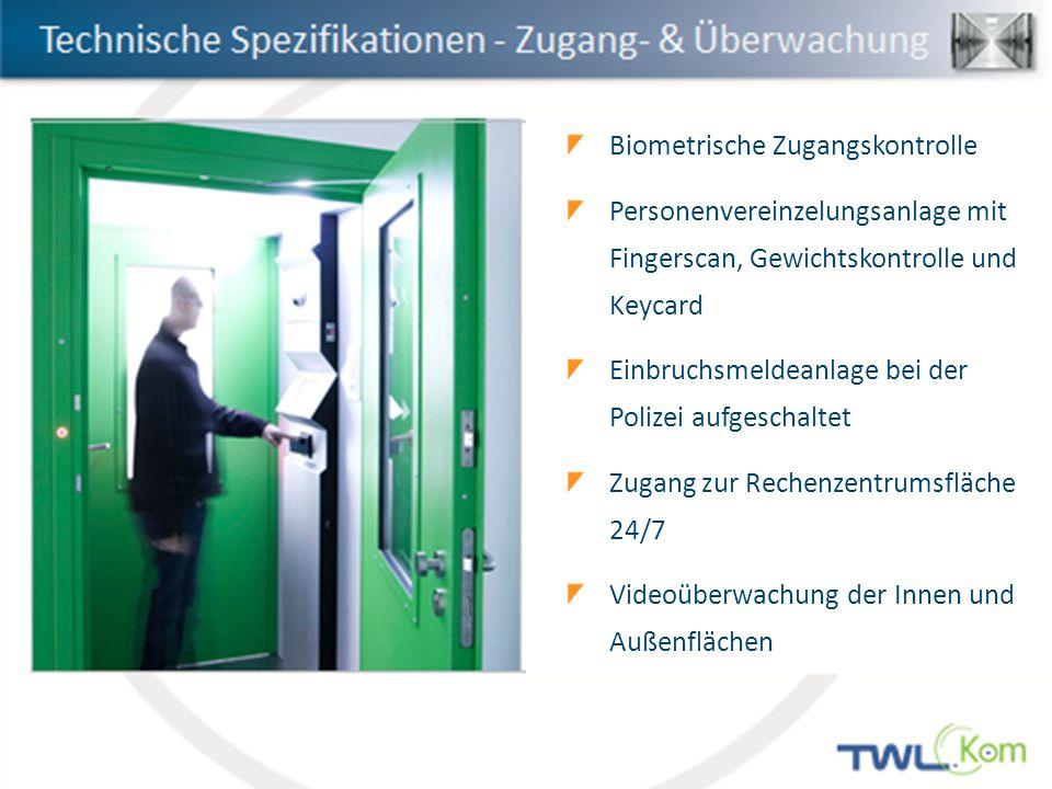 Biometrische Zugangskontrolle