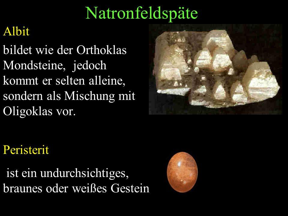 Natronfeldspäte Albit